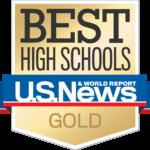 US News & World Report Best High Schools - Gold Award